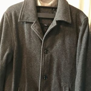 Gap vintage wool overcoat, style, simplified.